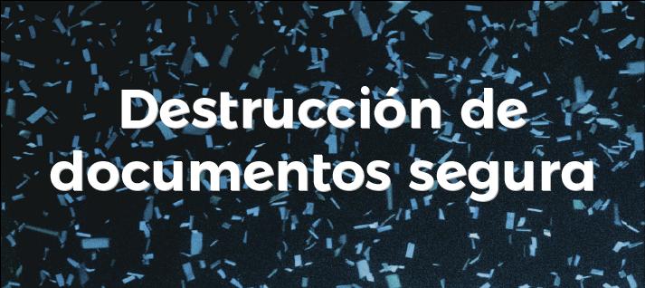 destrucción segura de documentos en Sintar